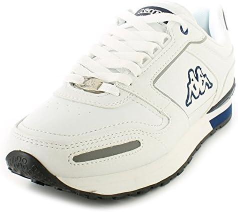Kappa HOMBRE/Hombre Blancas voghra Ligero Clásico Zapatillas running - Blanco/Azul Marino - GB Sizes 7-12: Amazon.es: Zapatos y complementos
