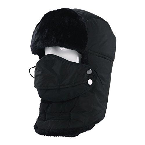 De De De Navy Esquí Sombreros Gorro Esquí Senderismo De O Patinaje Viento Sombrero De Hombre A Unisex Para Soldado Prueba Bombardero Caza Máscara Trampero Caliente 8ZnZSqax7