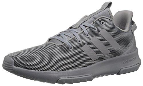 adidas Men's Cf Racer Tr Sneaker, Grey Heather/Black, 7.5 M US