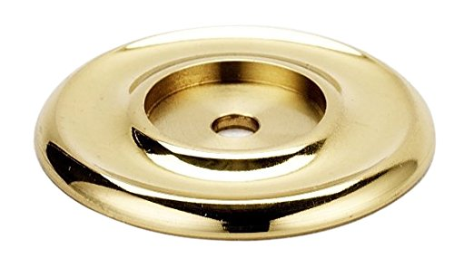 Alno A615-14-PB Traditional Backplates, Polished Brass, - Pb Backplate