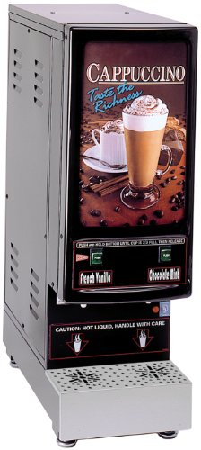 Commercial Hot Chocolate Maker (Grindmaster-Cecilware 2K-GB-LD Hot Powder Cappuccino/Hot Chocolate and Specialty Beverage Dispenser)