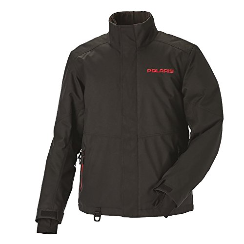 OEM Polaris Men's Black / Red Ripper Jacket Snowmobile Snocross Sizes S-4XL by Polaris