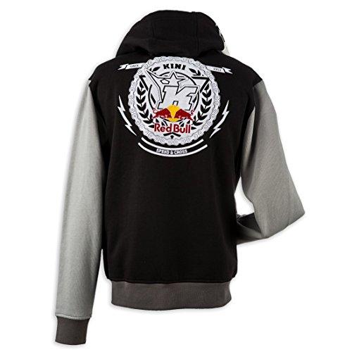Kini Red Bull Zip-Hoody Crest Schwarz Gr. L ...