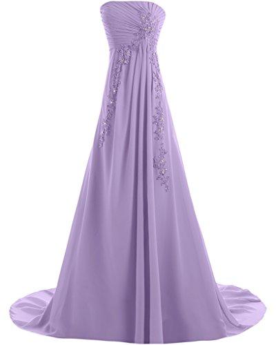 Missdressy - Robe - Trapèze - Femme -  violet - 34
