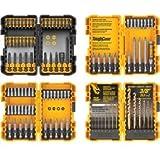 DeWalt 100 Piece Combination Set with ToughCase Storage Container by DeWalt