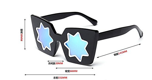 inspirées du métallique lunettes soleil style Lennon retro de Film vintage en rond Bleu cercle polarisées 1ntPRHqt