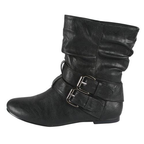 Bonnibel Bien-1n Mid-calf-damesschoen, Kleur: Zwart, Maat: 6,5