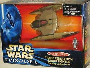 Star Wars Action Fleet Trade Federation Droid Fighter Episode (Federation Droid Fighter)