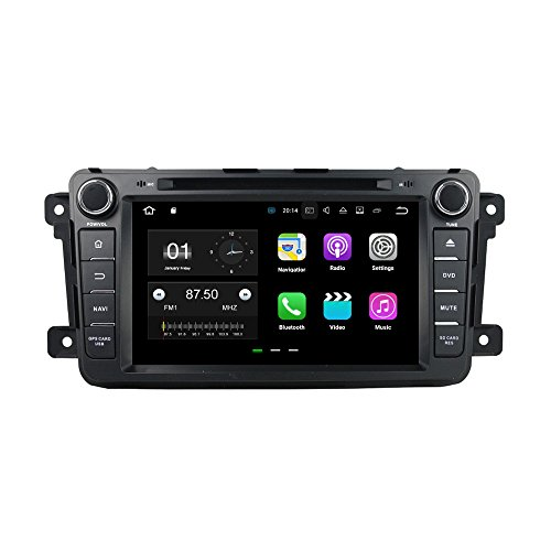 BoCID 2GB RAM Quad Core 2 din 7'' Android 7.1 Car DVD Player for Mazda CX-9 CX 9 With Car Radio GPS WIFI Bluetooth 16GB ROM USB DVR by BoCID