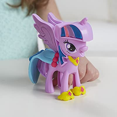 Play-Doh My Little Pony Princess Twilight Sparkle and Rarity Fashion Fun: Toys & Games