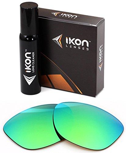Polarized Ikon Iridium Replacement Lenses For Oakley Jupiter Sunglasses - Emerald Green - Oakley Iridium Jupiter