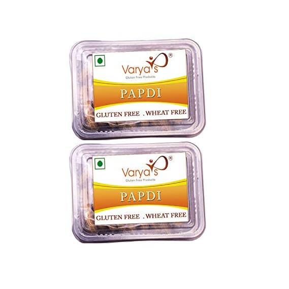 Varya's Gluten-Free Papdi - (125g Each) -Pack of 2