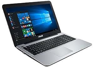 """ASUS F555LA-XX2035T - Portátil de 15.6"""" (Intel Core i3-4005U, 4 GB de RAM, Disco HDD de 500 GB, Intel HD Graphics 4400, Windows 10), Color Plateado -Teclado QWERTY Español"""