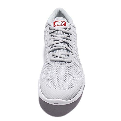 Nike Mens Air Max Advantage Scarpa Da Corsa Puro Platino / Bianco / Grigio Lupo