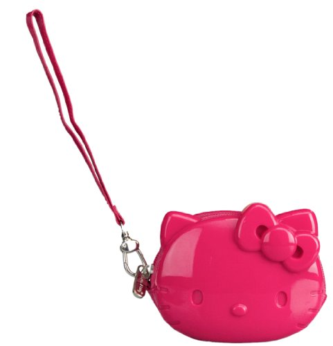 Loungefly Hello Kitty Pink Coin Bag With Strap