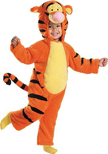 Tigger Costume Amazon (Morris Costumes TIGGER DELUXE PLUSH, Orange/Yellow/Black, 2T)