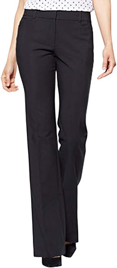 Petite Barely Bootcut Pant All-Season Stretch New York /& Co