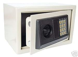 Electrónico fuerte para pared pared Safe–Caja fuerte Dinero Armario + llaves de emergencia