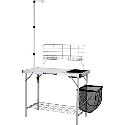Amazon.com: Ozark Trail Portable Camp Kitchen and Sink Table ...