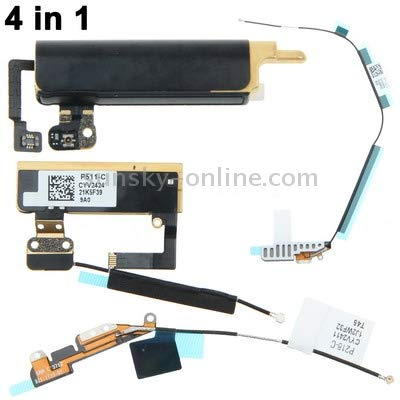 DASHOUU Replacement Parts Parts for iPad Version 4 in 1 Kit for iPad Mini