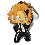 DOFE My Hero Academia Keychains,PVC Keychains for boys.3.1'. (Kaminari Denki)