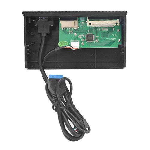 Zerone PC Internal Card Reader, USB 3.0 Port Card Dashboard Front Panel, M2, SD, MS, XD, CF, TF Card Support