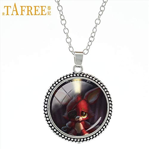 Pendant Necklaces - Cartoon Games Stock Vector Necklace & Pendant Five Nights at Freddy's Incredibly Unique Pendants Boys Girls Jewelry A244 - by TAFAE - 1 PCs