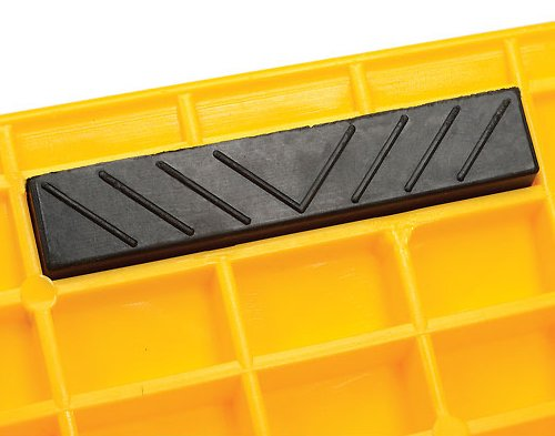 Curb Ramp - Heavy Duty 1000 Lbs Load Capacity - Yellow High Density Polyethylene for Hand Truck Delivery by BUNKERWALL (Image #8)