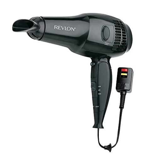 Revlon 1875W Full Size Travel Hair Dryer with Retractable Cord - 41jaT0j6XzL - Revlon 1875W Full Size Travel Hair Dryer with Retractable Cord