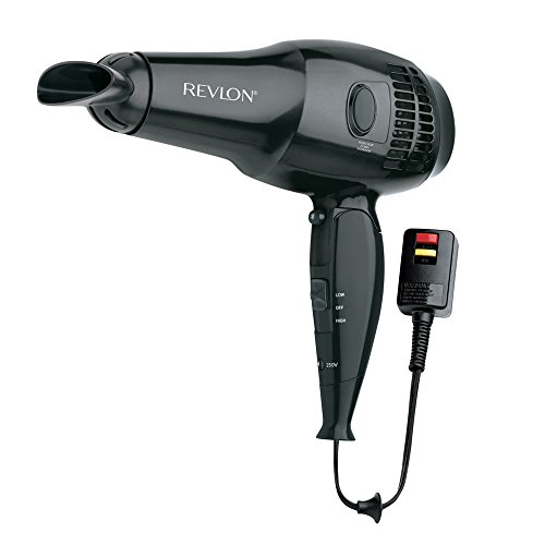 Revlon 1875W Full Size Travel Hair Dryer with Retractable Co