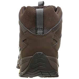 Merrell Men's Moab FST Mid Waterproof Hiking Shoe, Brown, 9.5 M US
