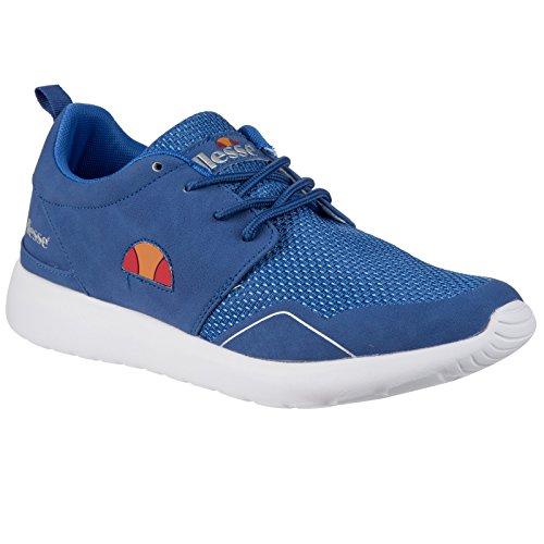 JL1 Ellesse Sneaker Schuhe ELS525401 Retro Damen Blau 40