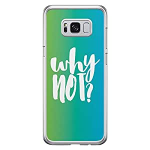 Samsung S8 Transparent Edge Case Why Not -Multicolor
