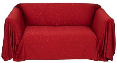 Stylemaster Brianna Jacquard Furniture Throw, Spice Sofa