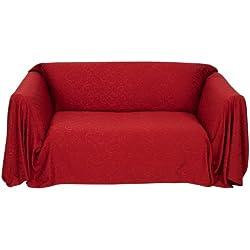 Stylemaster Brianna Jacquard Furniture Throw, Spice Love Seat