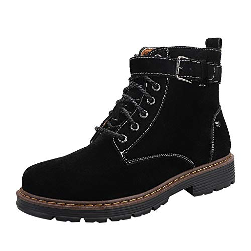 Respctful✿ Combat Work Boots for Men lace