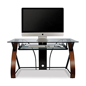 Amazon BellO CD8841 Computer Desk With Keyboard Tray