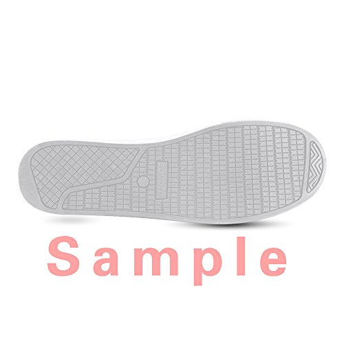 CHEESE Scarpe da Uomo Chiusura con Lacci Classic Flat Canvas Low-Top Nero Sneaker Traspirante Custom Design Bella Tigre