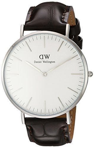 Daniel Wellington Men's 0211DW York Analog Display Quartz Brown Watch by Daniel Wellington