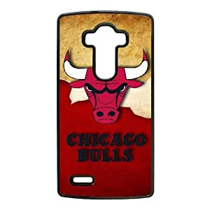 LG G4 Cell Phone Case Black NBA LOGO Chicago Bulls Plastic Durable Cover Cases swxc5065499