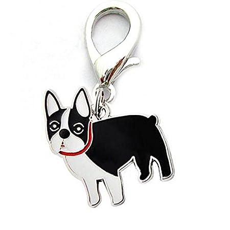 Woman bag charm Gift lovely Puppy ciondolo portachiavi in metallo portachiavi Dog Zantec