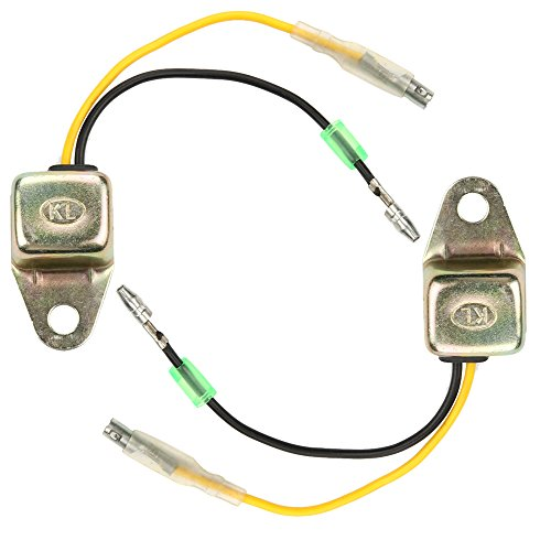 Harbot (Pack of 2 34150-ZH7-013 Low Oil Alert Sensor for Honda GX160 GX200 GX240 GX270 GX340 GX390 5.5HP 6.5HP 8HP 9HP 11HP 13HP Engine 15510-ZE2-043