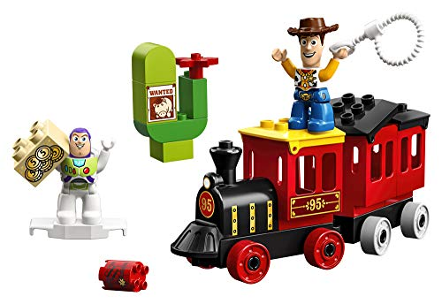 41jaW0xRcoL - LEGO DUPLO Disney Pixar Toy Story Train 10894 Building Blocks (21 Piece), New 2019