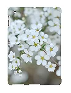White Blossoms Case Compatible With Ipad 2/3/4/ Hot Protection Case(best Gift Choice For Lovers) by lolosakes