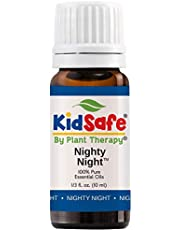 Plant Therapy KidSafe Nighty Night Essential Oil Blend for Sleep 10 mL (1/3 oz) 100% Pure, Undiluted, Natural Aromatherapy, Therapeutic Grade