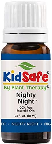Plant Therapy Essential Oil | Nighty Night Synergy Sleep Blend | 100% Pure, KidSafe, Undiluted, Natural Aromatherapy, Therapeutic Grade | 10 milliliter (⅓ ounce)