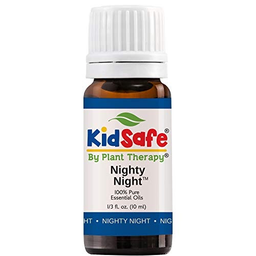 Plant Therapy Essential Oil | Nighty Night Synergy Sleep Blend | 100% Pure, KidSafe, Undiluted, Natural Aromatherapy, Therapeutic Grade | 10 milliliter (⅓ ounce) ()