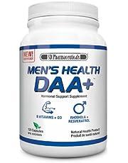 SD Pharmaceuticals Men's Health DAA+ Hormonal Support Supplement - 120 Caps