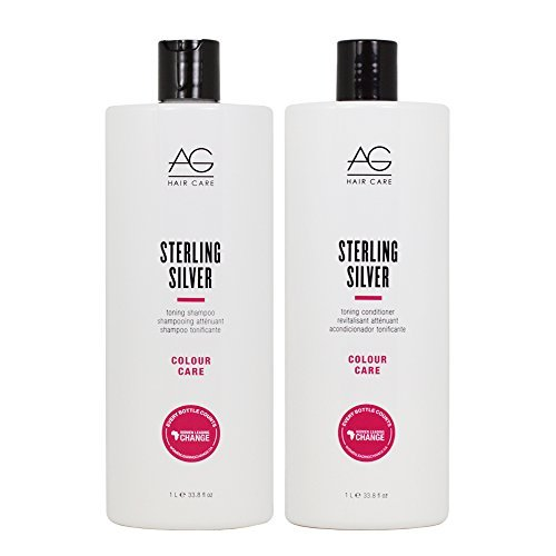 AG Hair Sterling Shampoo Conditioner