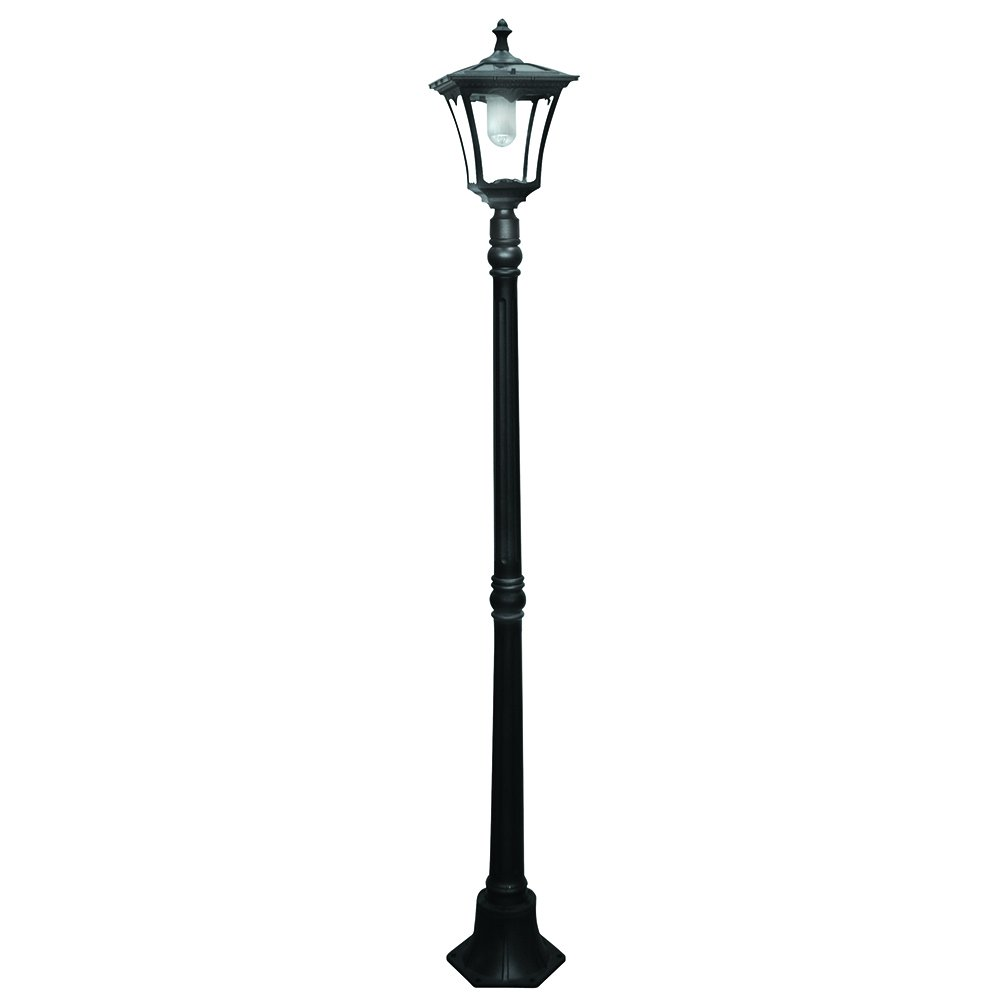 Paradise by Sterno Home Cast-Aluminum Solar-Powered LED ... for Modern Street Lamps  51ane